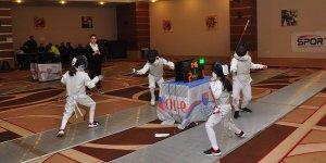 Alt Yaş Flöre Açık Eskrim Turnuvası, Antalya'da sona erdi