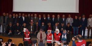 Adana'da kan bağışçılarına madalya verildi