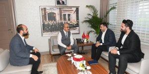 TÜGVA İl Yönetiminden Vali Demirtaş'a Teşekkür Ziyareti