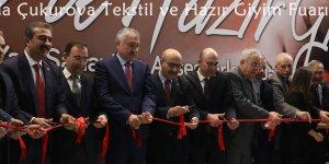 Adana'da Çukurova Tekstil ve Hazır Giyim Fuarı açıldı