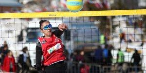 Kar voleybolunda kadınların hedefi Avrupa Şampiyonası'nda altın madalya