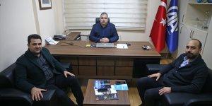 TÜGVA Adana İl Başkanı Sancar'dan AA'ya ziyaret