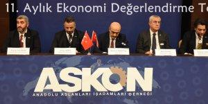 """""""ASKON 11. Aylık Ekonomi Değerlendirme Toplantısı"""""""