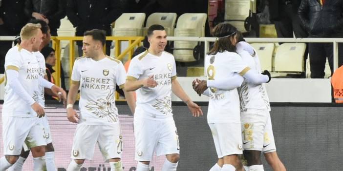 MKE Ankaragücü, Süper Lig'de 14 maç aradan sonra kazandı