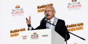 Kılıçdaroğlu: Sözde barış planı yüzyılımızın Haçlı zihniyetidir