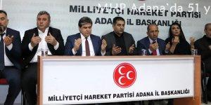 MHP Adana'da 51 yıllık onur!