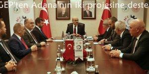 SOGEP'ten Adana'nın iki projesine destek