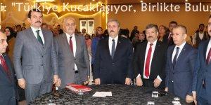 """Destici: """"Türkiye Kucaklaşıyor, Birlikte Buluşuyor"""""""