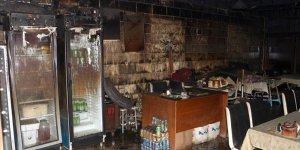 Adana'da iş yeri yangını