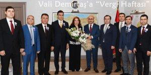 "Vali Mahmut Demirtaş'a ""Vergi Haftası"" Ziyareti"