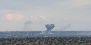 TSK Esed rejiminin Halep'teki askeri havaalanını vurdu