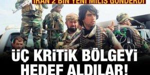 Türkiye vuruyor İran milis taşıyor..
