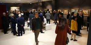 """Adana'da """"Yapı Kredi Koleksiyonu'ndan Renkler"""" sergisi açıldı"""