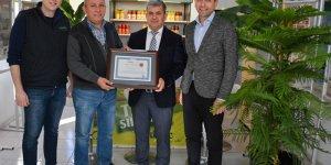 AOSB'nin çevreci fabrikalarına ödül