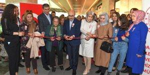 Vali Demirtaş Resim Ve El Sanatları Sergisinin Açılışını Gerçekleştirdi