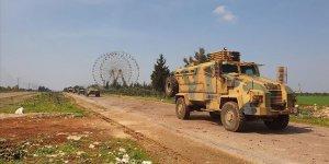 MSB: İdlib'deki M4 karayolunda 1'inci Türk-Rus birleşik kara devriyesi icra edildi