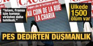 Fransız dergisi Causeur'den İslam düşmanlığı: Bizi koronavirüs değil, İslam tehdit ediyor