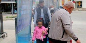 Adana'da korona virüs salgınına karşı dezenfeksiyon tüneli