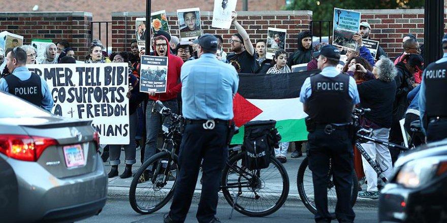 İsrail ABD'de protesto edildi