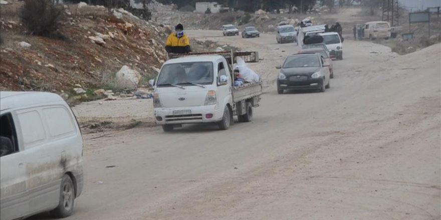 Halep'ten ayrılan konvoylar, Han Asel bölgesine ulaştı