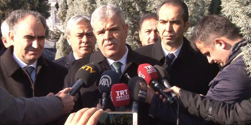 Başbakan Yardımcısı Kaynak, Kayseri'deki terör saldırısı ile ilgili açıklamada bulundu