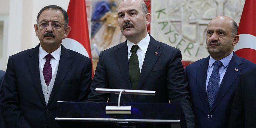 """İçişleri Bakanı Soylu: """"Şu anda 7 kişi gözaltında"""""""
