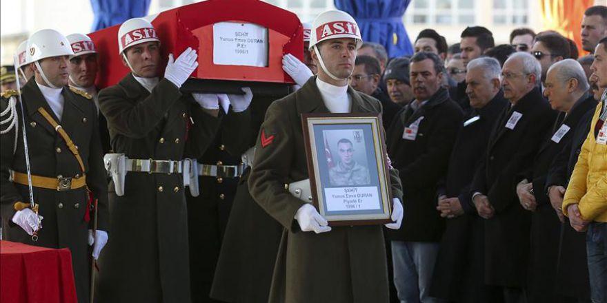 Şehit Yunus Emre Duran için tören düzenlendi
