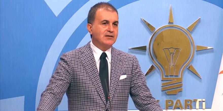 AK Parti Sözcüsü Çelik: Cumhurbaşkanımıza saygı AK Parti'nin kırmızı çizgisidir