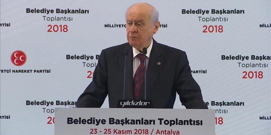 Bahçeli: İstanbul, Ankara ve İzmir'de aday göstermeyeceğiz