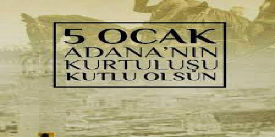 Adana Yerel Basınında 5 Ocak Kurtuluş Bayramı