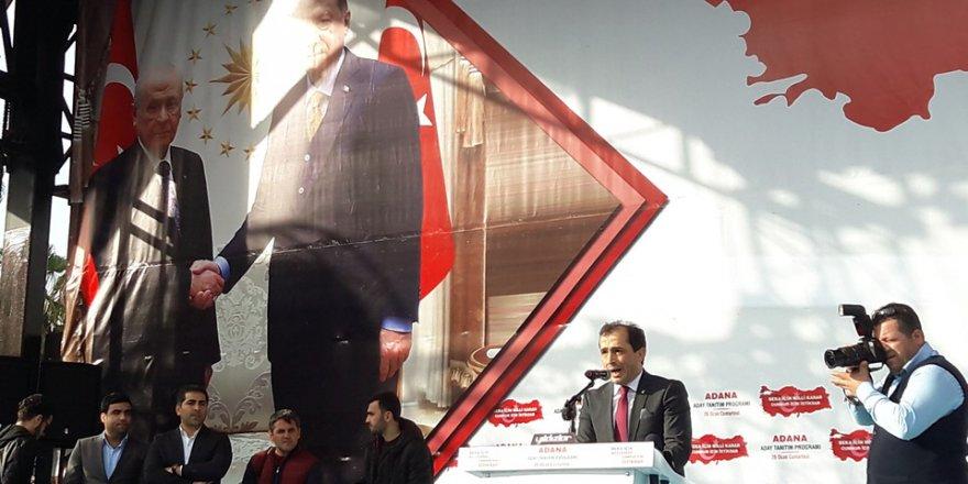 "Adana'nın ""Cumhur İttifakı"" aday tanıtım programı.."