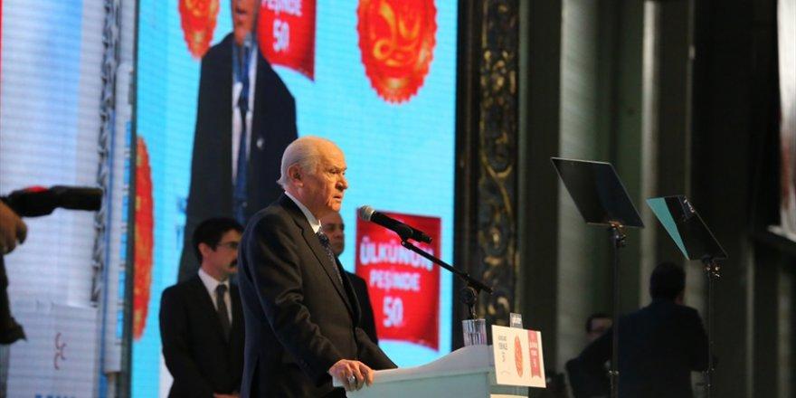 MHP'nin kuruluşunun 50. yıl dönümü kutlanıyor..