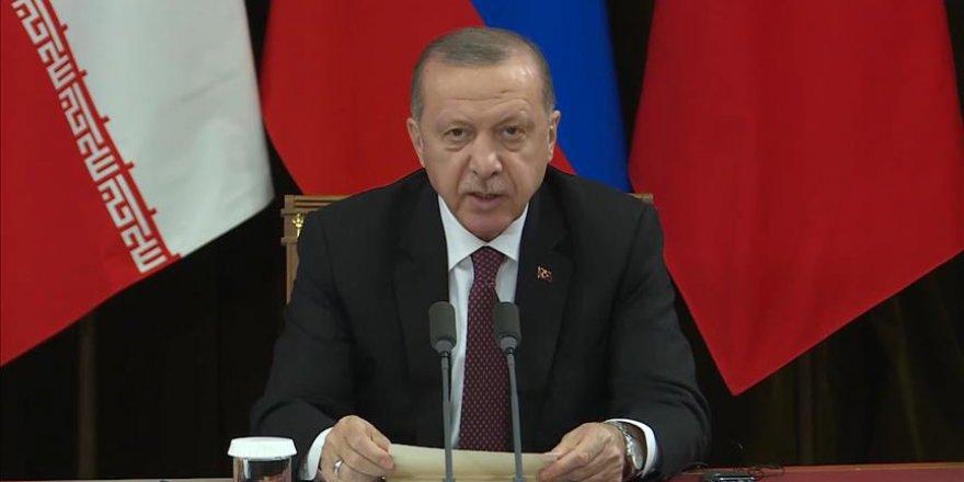 Erdoğan: Suriye'de yeni dramların yaşanmasını istemiyoruz