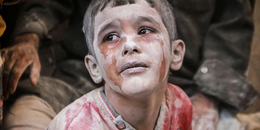 Suriye'deki savaş mağdurlarının sığınağı Cerablus