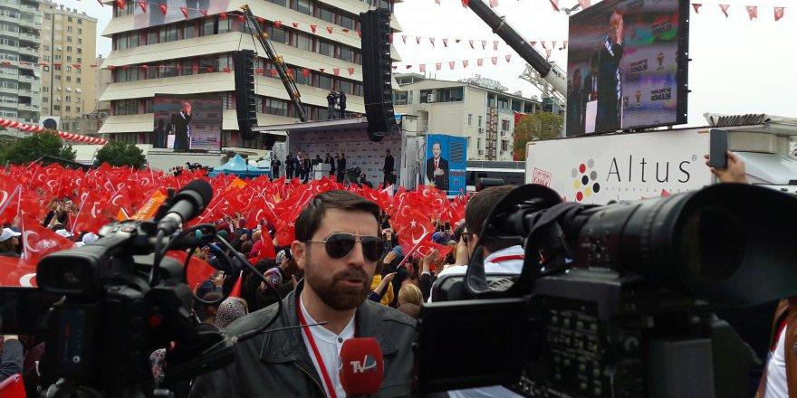 Başkan Erdoğan Adana Mitingi'nde konuşuyor..