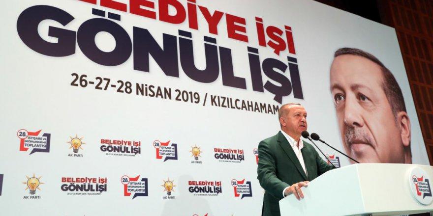 Erdoğan: Ekonomik teröre de teslim olmadık, olmayacağız