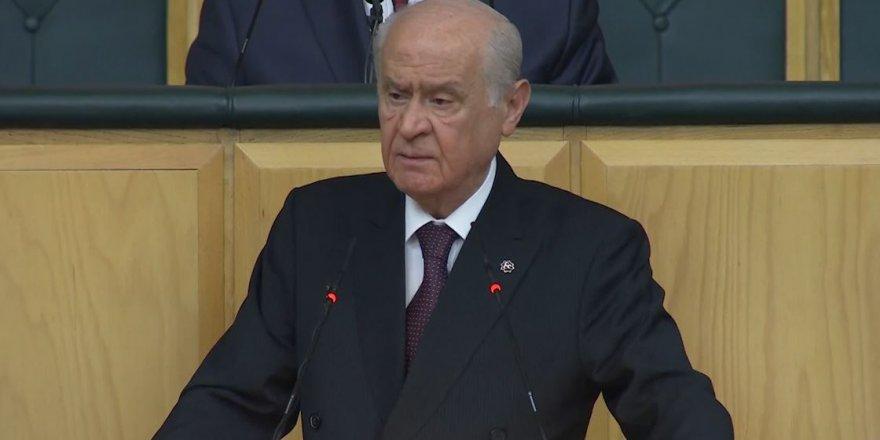 MHP Lideri Bahçeli'den dokunulmazlık çağrısı