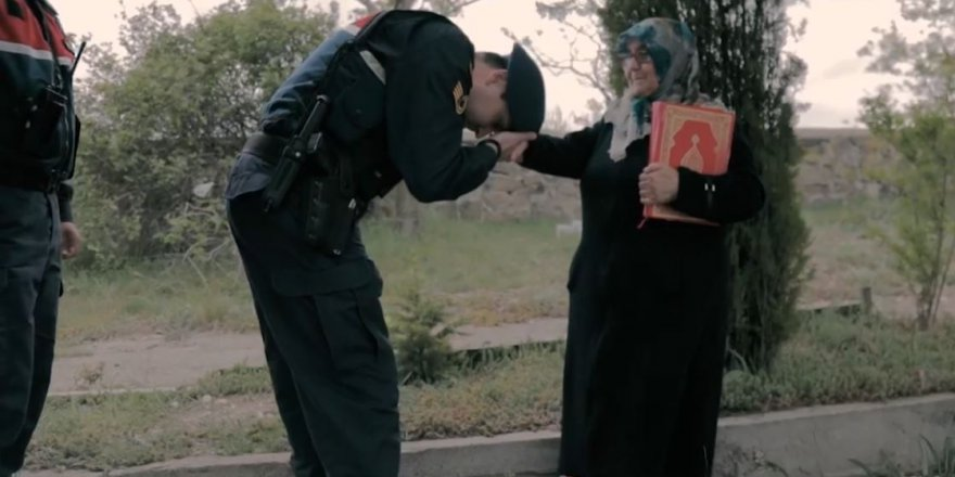Jandarma Genel Komutanlığından Anneler Günü videosu