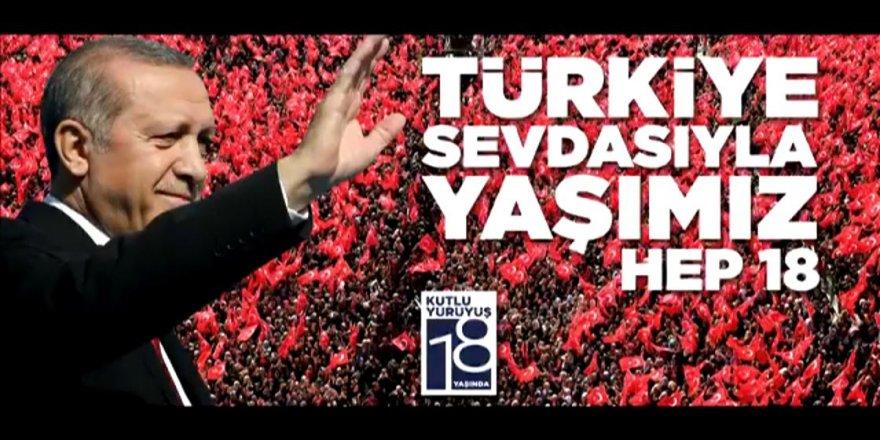 AK Parti'nin 18. yaş marşı