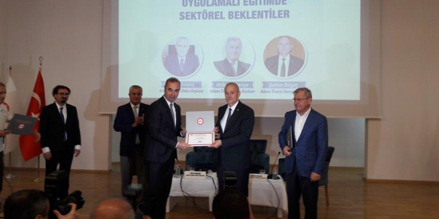 ATB Başkanı Şahin Bilgiç: 'Pratik ile teoriği birleştirmeliyiz..'