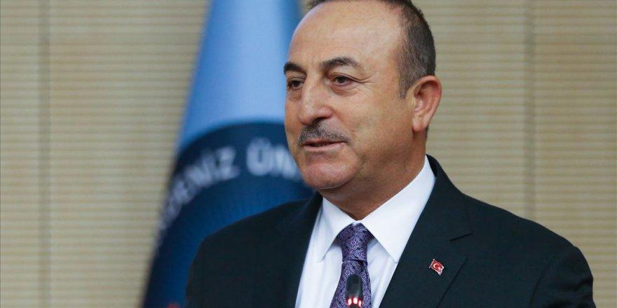 """Çavuşoğlu: """"YPG/PKK devleti kurmak istiyorlardı"""""""