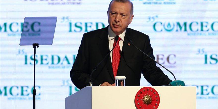 Erdoğan: Demokrasiyi kimseye bırakmayanlar Müslümanlar taciz edilirken üç maymunu oynuyor
