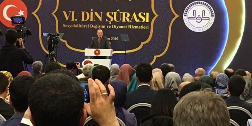 Erdoğan, 6. Din Şûrası Kapanış Programı'nda konuştu