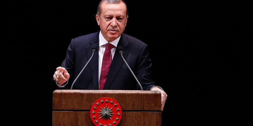 Erdoğan: Biz sırtımızı hakka ve halka dayıyoruz, farkımız bu