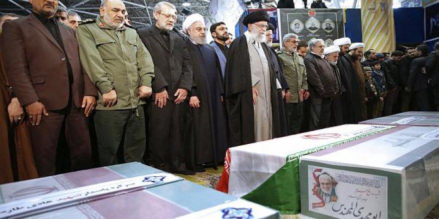 Kasım Süleymani'nin cenaze töreni