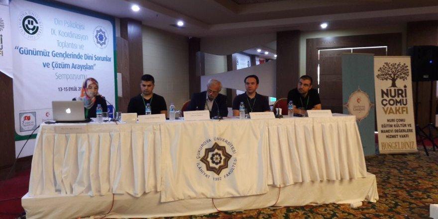 """Prof. Dr. İmamoğlu: """"Gençlerin Din ve İnanç Sorunlarının Gündelik Hayata Yansımaları"""" - 2"""