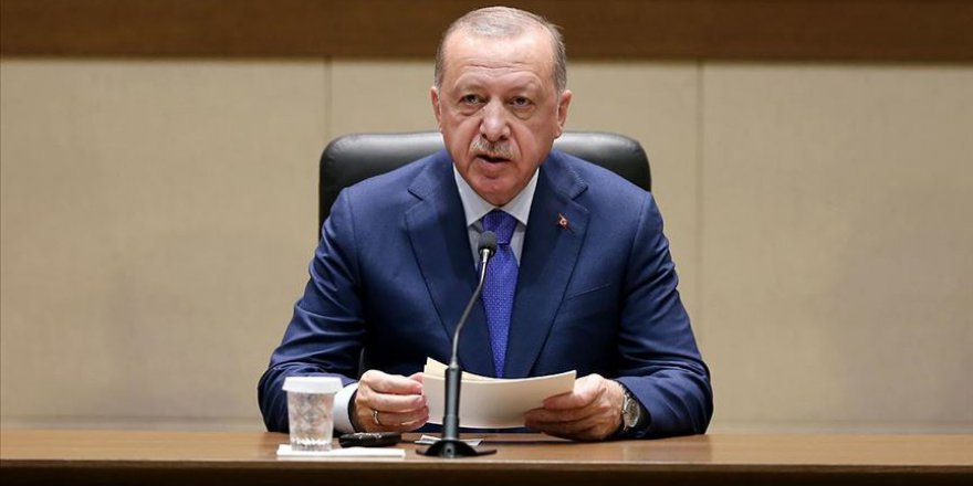 Erdoğan: Sanal dünyaya asla teslim olmayacağız