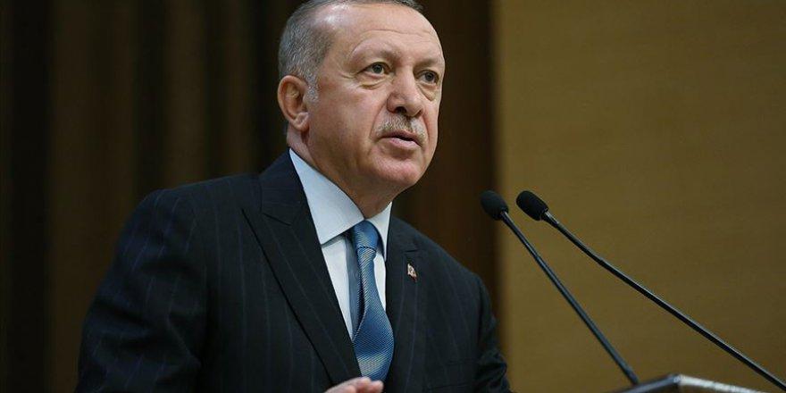 Erdoğan: Ülkemize saldıran terör örgütlerinin yanında yer alanların maskeleri birer birer düşüyor