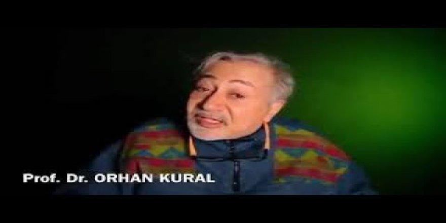 """Prof. Dr. Orhan Kural """"Yağma yok!"""""""
