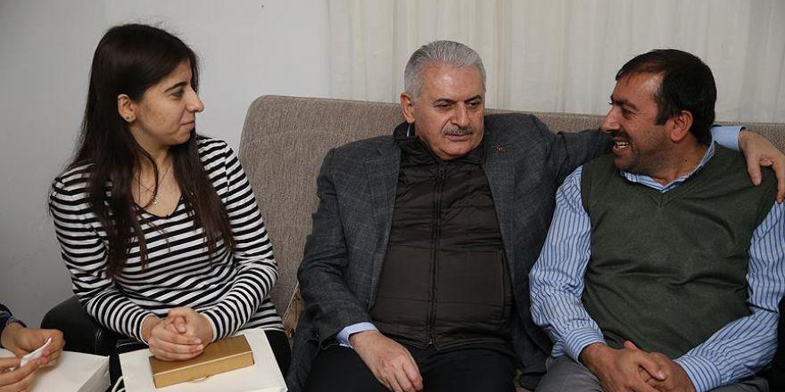 Başbakan Yıldırım, otobüs şoförünün evine misafir oldu